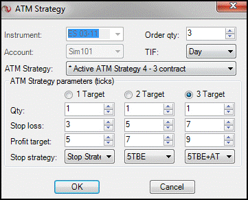 Can you trade options with ninjatrader